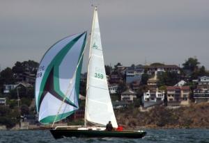 Lizbeth Under Sail